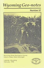 Wyoming Geo-Notes—Number 57 (1998)
