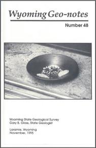 Wyoming Geo-Notes—Number 48 (1995)