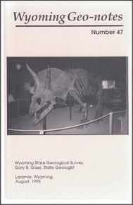 Wyoming Geo-Notes—Number 47 (1995)