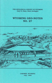 Wyoming Geo-Notes—Number 27 (1990)