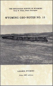 Wyoming Geo-Notes—Number 15 (1987)