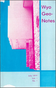 Wyo Geo-Notes-Number 1 (1977)