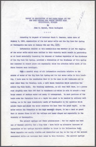 Report of Examination of Hot Water Wells and the Big Horn Mineral Hot Springs Located near Thermopolis, Wyoming (1929)