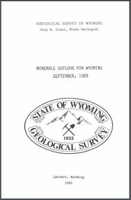 Minerals Outlook for Wyoming, September, 1983