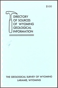 Directory of Sources of Wyoming Geological Information (1973)