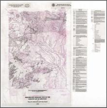 Preliminary Geologic Map of the Barlow Gap Quadrangle (1999)