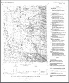 Preliminary Geologic Map of the Howell Quadrangle, Albany County, Wyoming (1996)