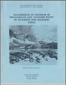 Occurrences of Uranium in Precambrian and Younger Rocks of Wyoming and Adjacent Areas (Abstracts) (1978)