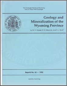 Geology and Mineralization of the Wyoming Province (1992)