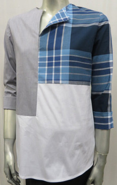 Style #7244 Color block shirt