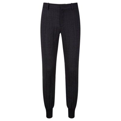 Rib Ankle Tailored Trousers