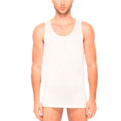 Cotton + Cashmere Tank - Wht