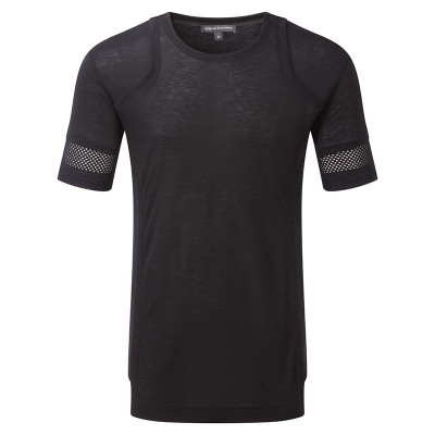 Perforated Sleeve Shirt