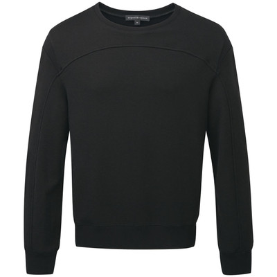 Ribbed Seamed Sweatshirt