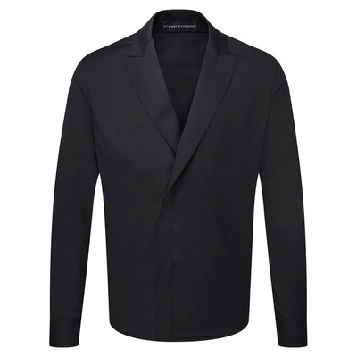 Lapel Button Down - Blk