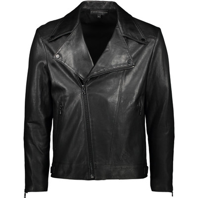 Matte Black Leather Jacket