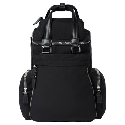 NYLON + LEATHER BACK PACK