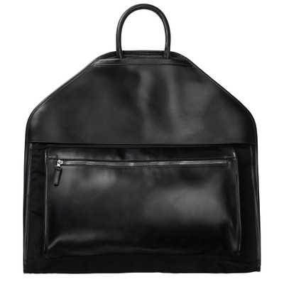Bashir Leather + Nylon Garment Bag