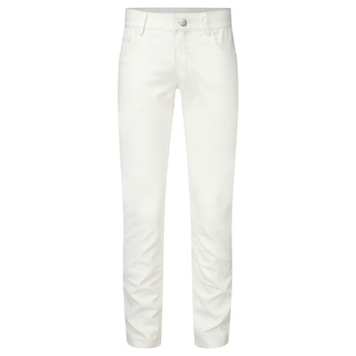 Denim Slim-Fit Jean White