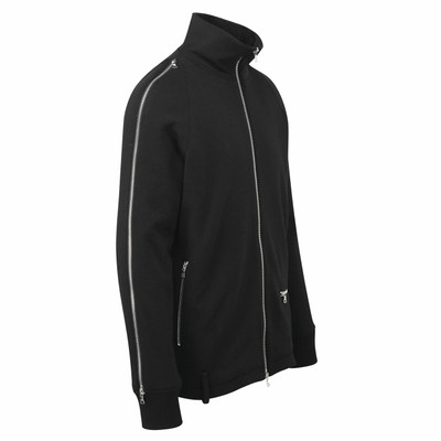 Sleeve Zip Sweat Jacket