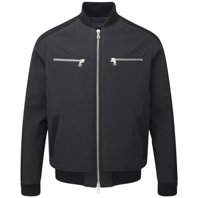 Byron Bomber Jacket, Black