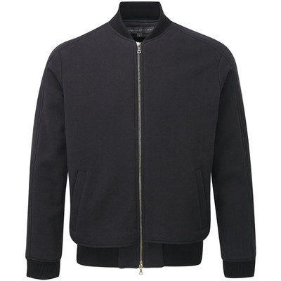 Cotton Sweat Jacket, black