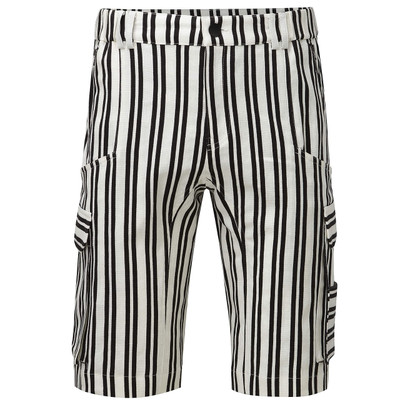 Stripe Cargo Shorts