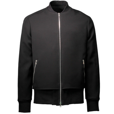 Layered Bomber Jacket, Neoprene