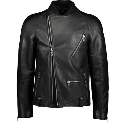 Raglan Leather, Biker Jacket