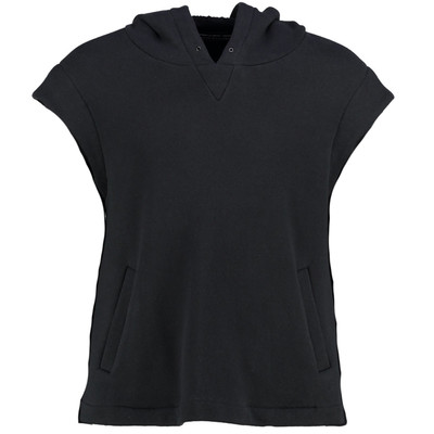 Sleveless Cropped Hoodie