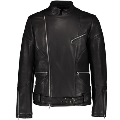 Axel Leather Biker Jacket