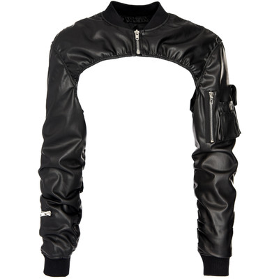 Shoulder Blade Leather Jacket