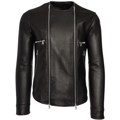 Moto Zip  Leather Jacket