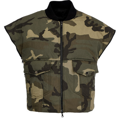 Camouflage  Padded Vest