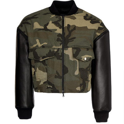 Zip off Sleeves Camouflage Jacket