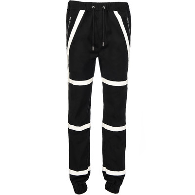 Contrast Track Pant, B&W