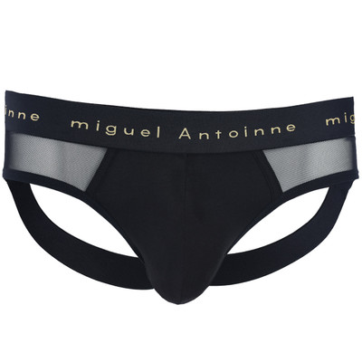 Black Gold Micro Mesh Jock Briefs