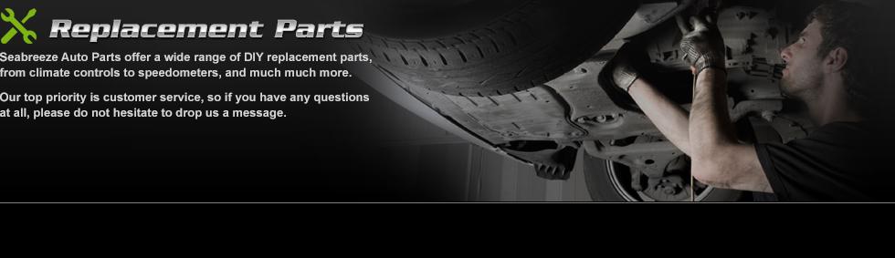 Replacement parts, car part