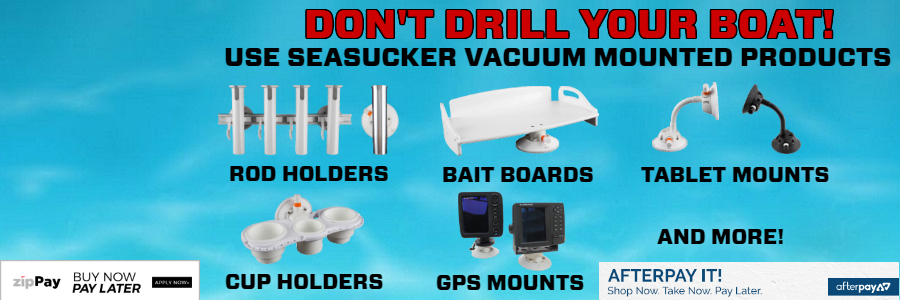 "SeaSucker Marine Products ""Don't Drill Your Boat"" Banner"