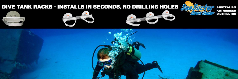SeaSucker Dive Tank Racks Banner