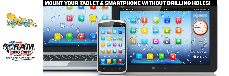 SeaSucker Tablet & Smartphone Mounts