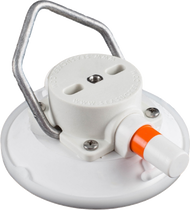 114mm SeaSucker White Vacuum Mount with Aluminium Handle