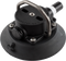 114mm SeaSucker Black Vacuum Mount with Stainless Steel D-Ring