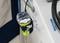 SeaSucker EPIRB Mount secured to the boat's helm