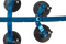 The Komodo - Single Bike Rack for Sports Cars & Convertibles (BB3009)