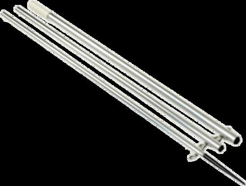 Lee's AO8715CR - 15ft Center Rigger Bright Silver Poles MKII