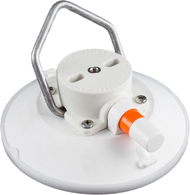 152 mm SeaSucker White Vacuum Mount with Aluminium Handle