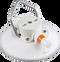 152 mm SeaSucker White Vacuum Mount with Aluminium Handle