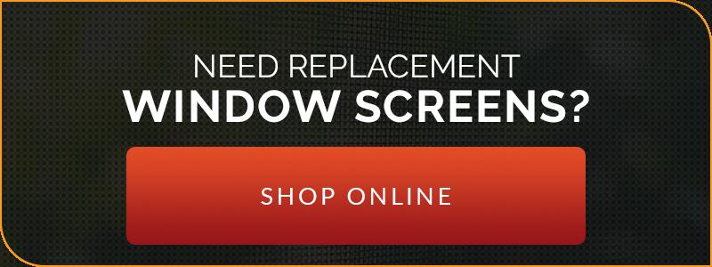 Need Replacement Window Screens? Shop Online!