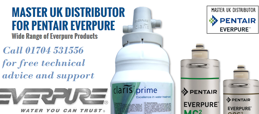 Master UL distributor for Pentair Everpure.